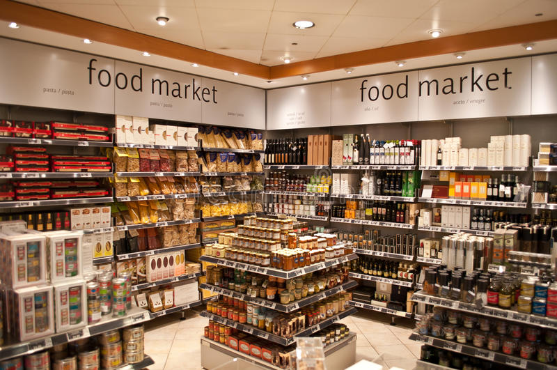 Продовольственный рынок стоковое изображение rf