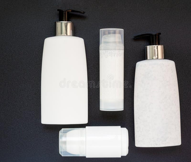 4 продукта красоты стоковые изображения rf
