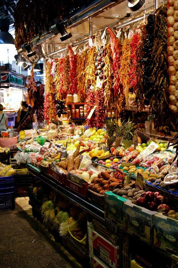 Продукты на рынке стоковая фотография