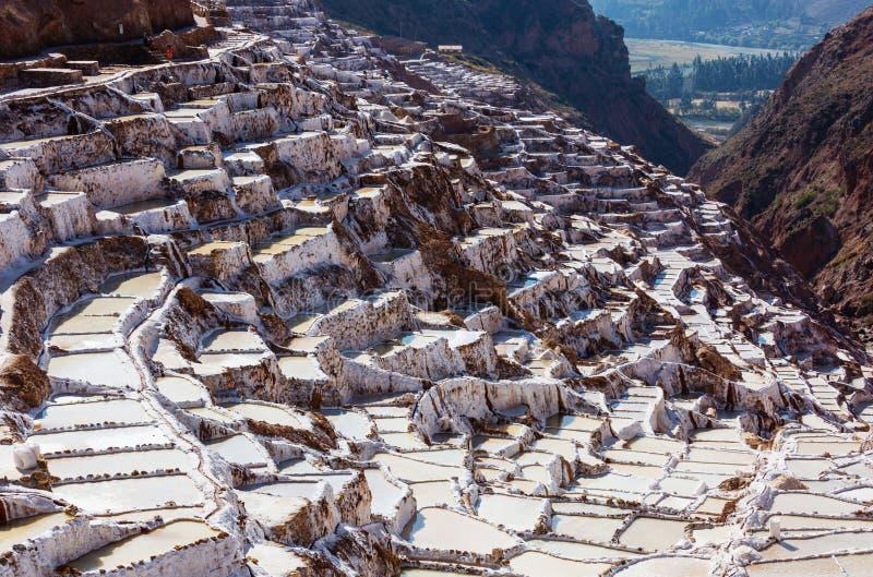Пруды соли стоковое фото