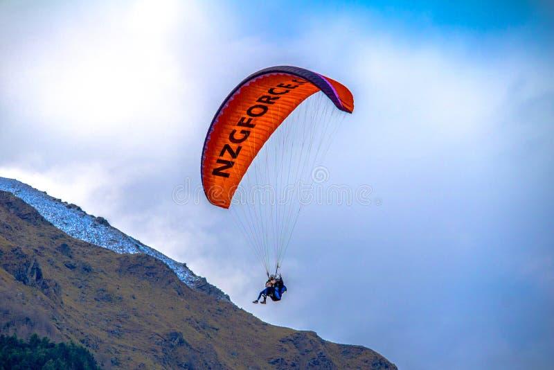 Прыгун Queenstown Новой Зеландии стоковые фотографии rf