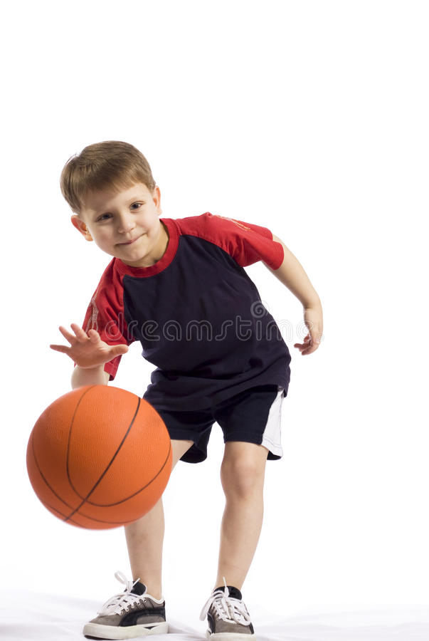 прыжок шарика стоковое фото