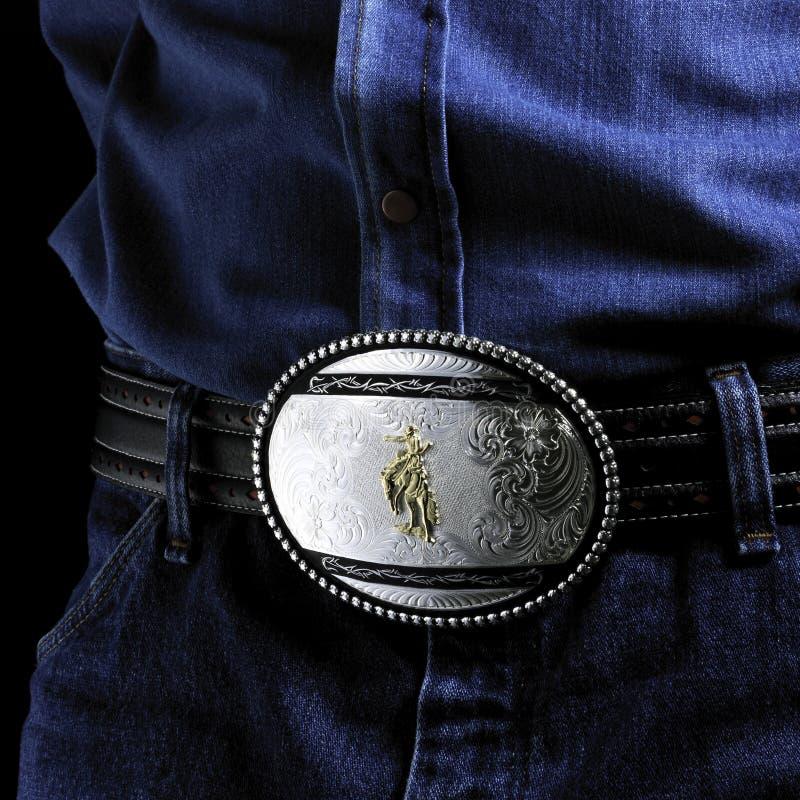 пряжка пояса стоковое фото
