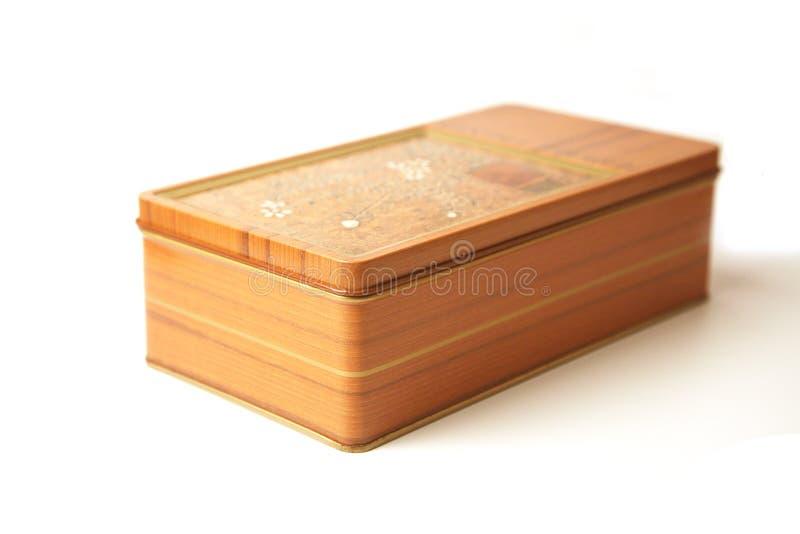 прямоугольник металла коробки стоковое изображение rf