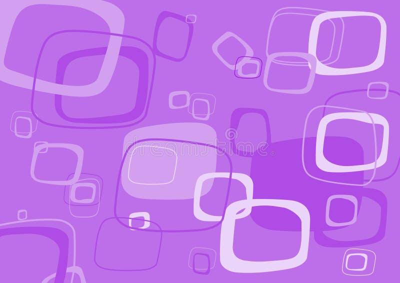 прямоугольник пурпура предпосылки иллюстрация вектора