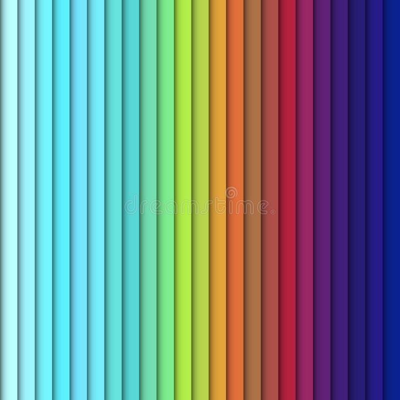 Прямоугольники яркого цвета вертикальные, красочный дизайн с перекрывать геометрические прямоугольные формы формируя конспект бесплатная иллюстрация