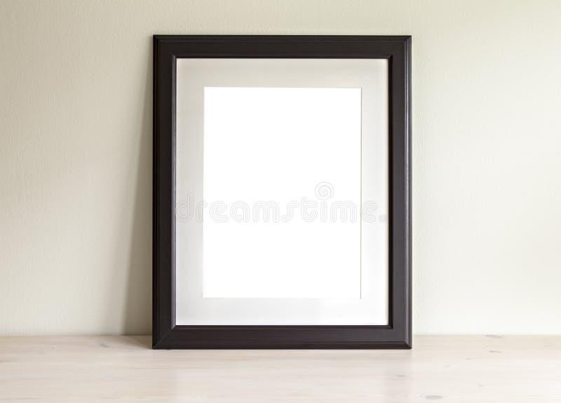 Прямоугольный модель-макет рамки стоковая фотография rf