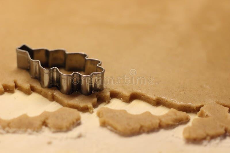 Пряник выпечки стоковая фотография