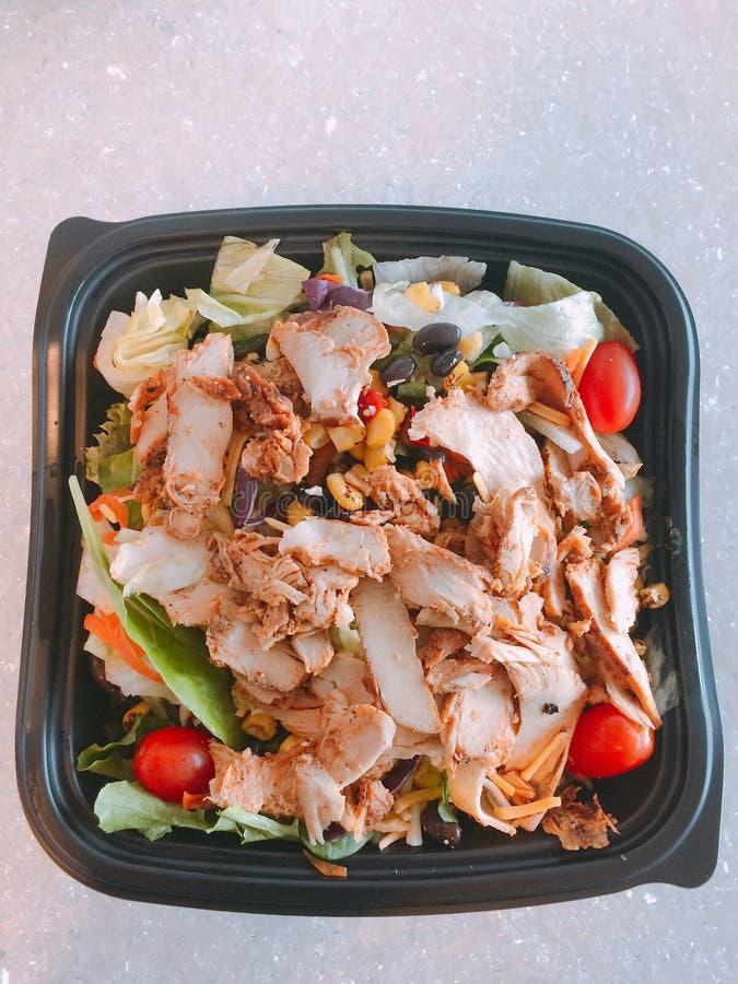 Пряный салат юго-запада стоковое фото