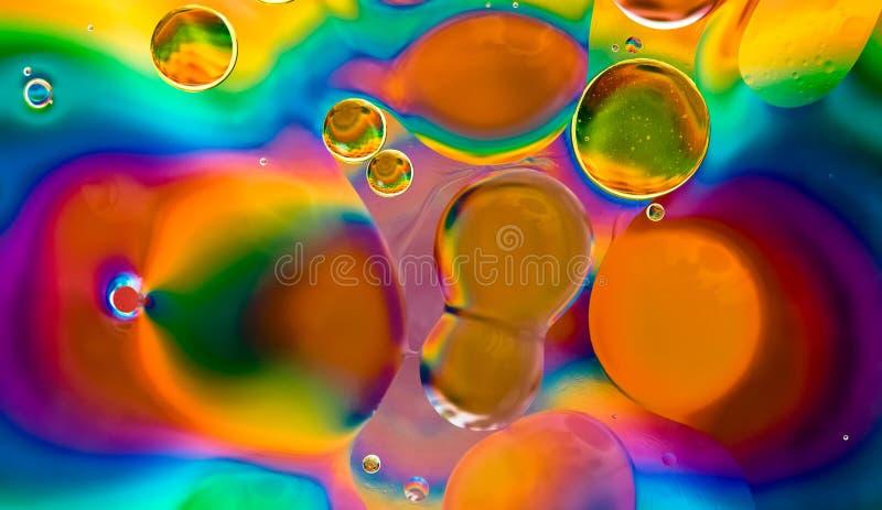 психоделическая работа масла стоковое изображение rf