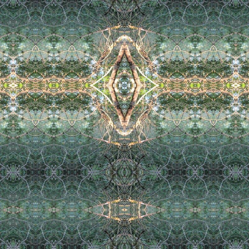 Психоделическое Kaleidoscopy, № 1 картины стоковая фотография