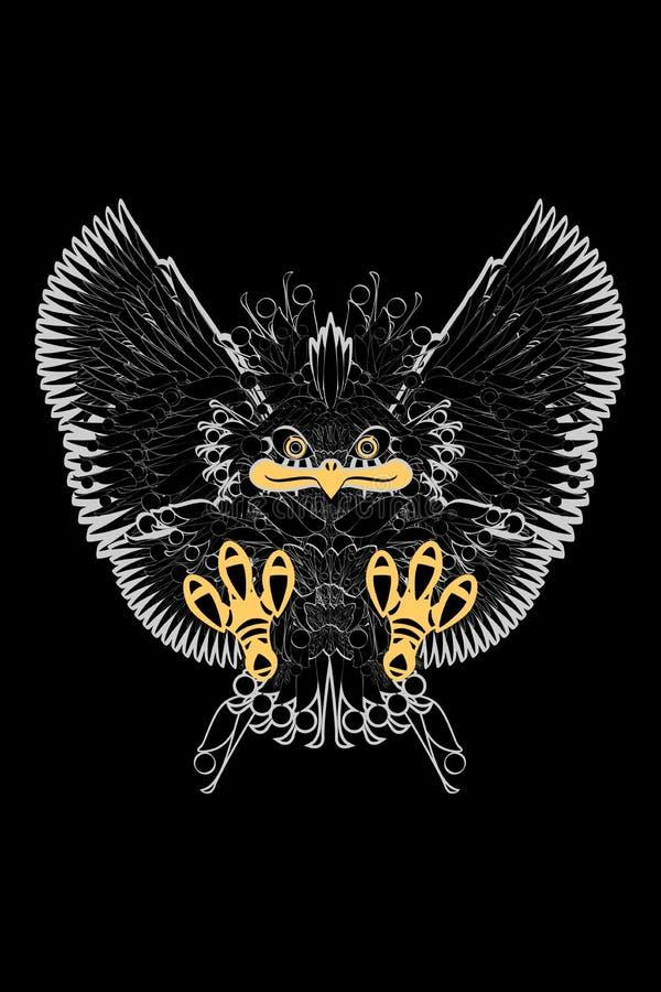 Птица орла Prey бесплатная иллюстрация
