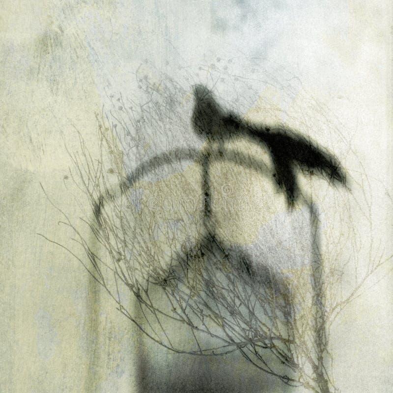 птица освобождает иллюстрация штока