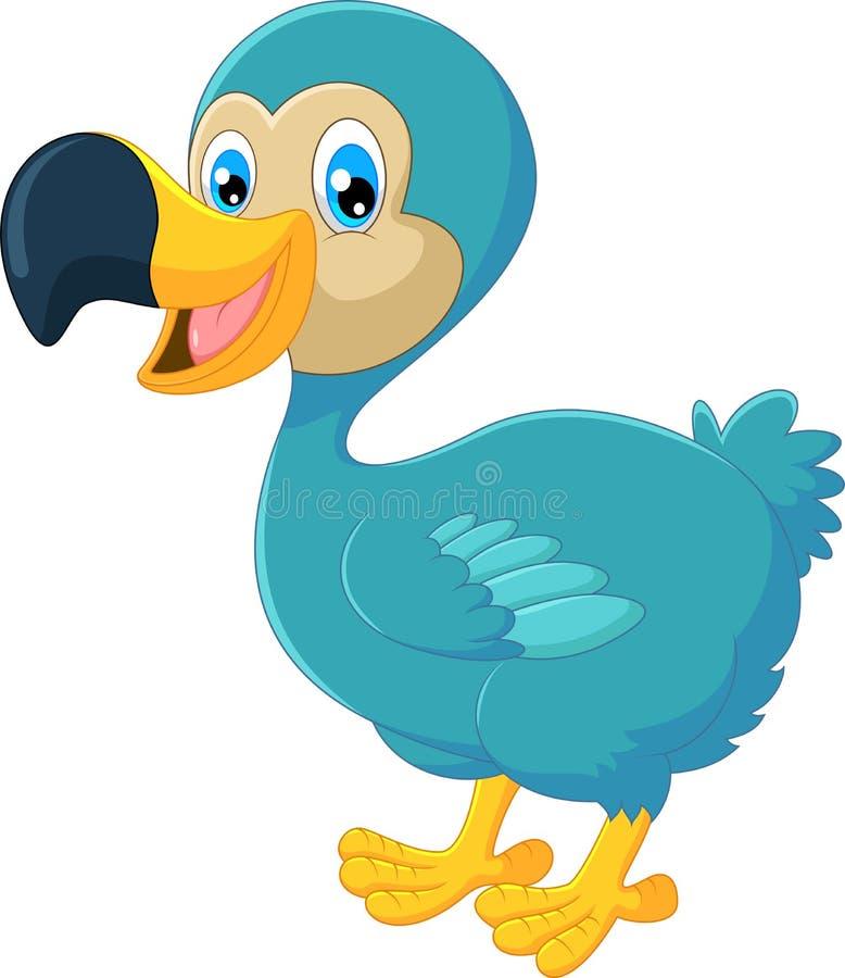 Птица додо шаржа бесплатная иллюстрация