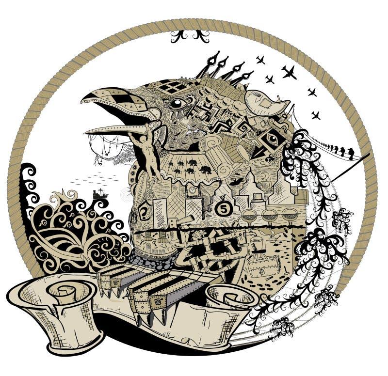 птица урбанская бесплатная иллюстрация