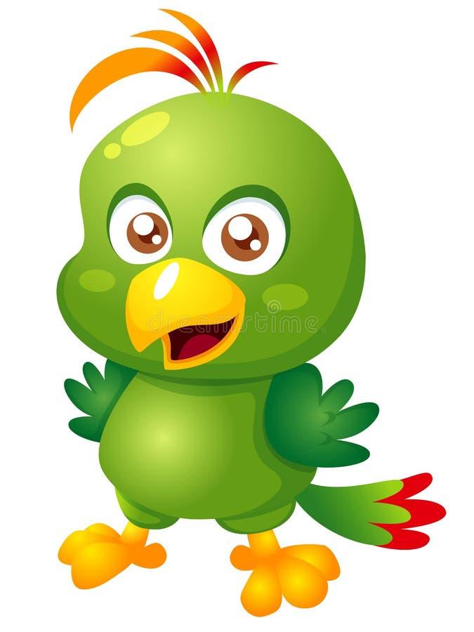 Птица шаржа бесплатная иллюстрация