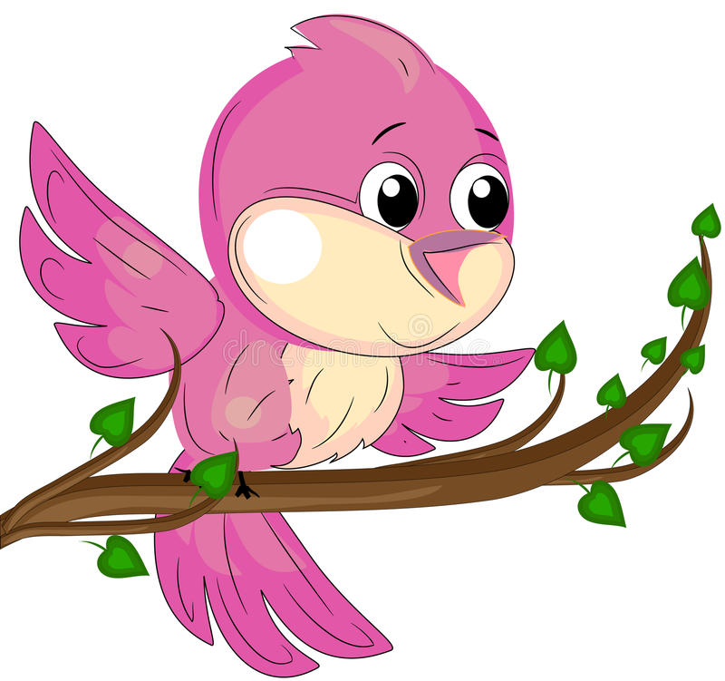 птица иллюстрация штока