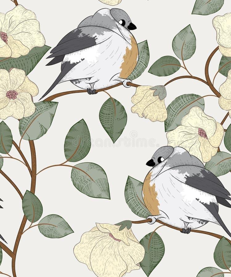 Download птицы делают по образцу безшовное Иллюстрация вектора - иллюстрации насчитывающей картина, конструкция: 41661079