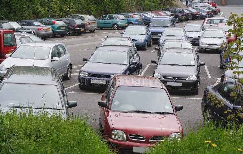 публика автостоянки стоковые фото