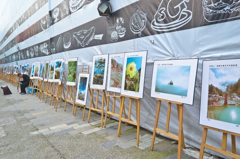 публика выставки искусства стоковые фотографии rf