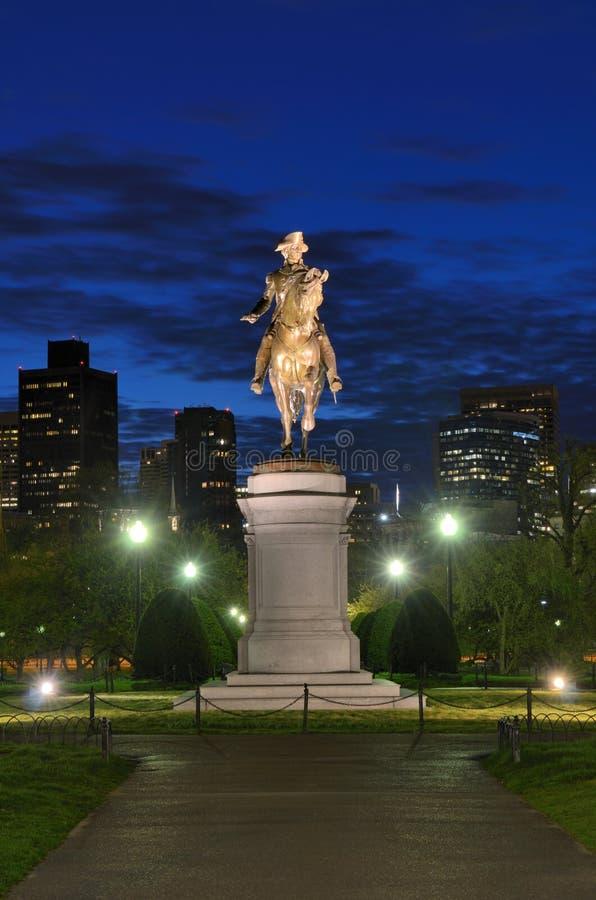 публика сада boston стоковое изображение