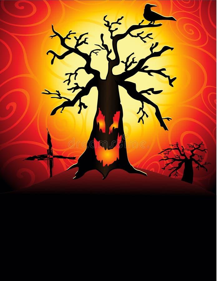пугающее tree2 бесплатная иллюстрация