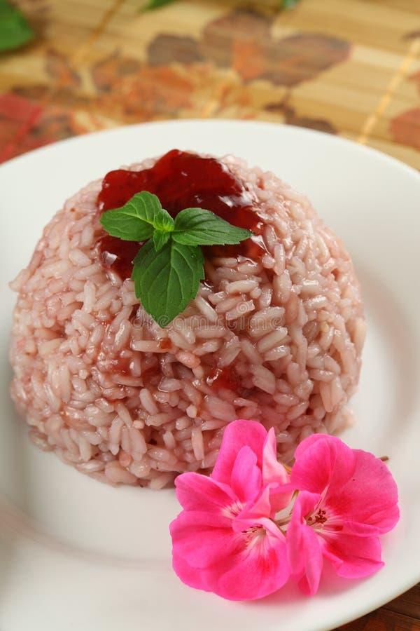 Пудинг риса стоковые фотографии rf