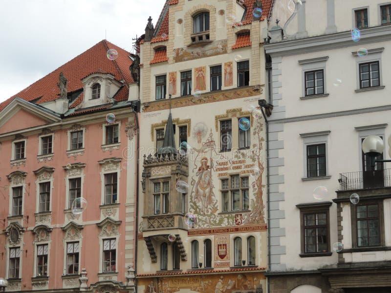 Пузыри в Праге стоковая фотография