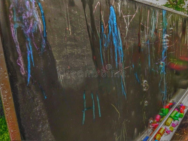 Пузыри и цвет доски стоковое изображение rf