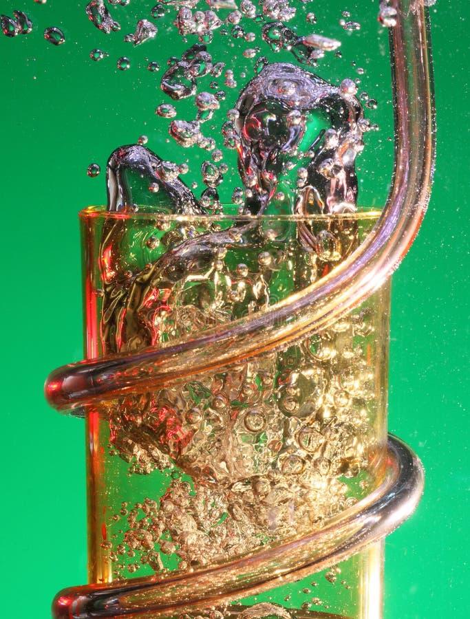 пузыри предпосылки стоковая фотография