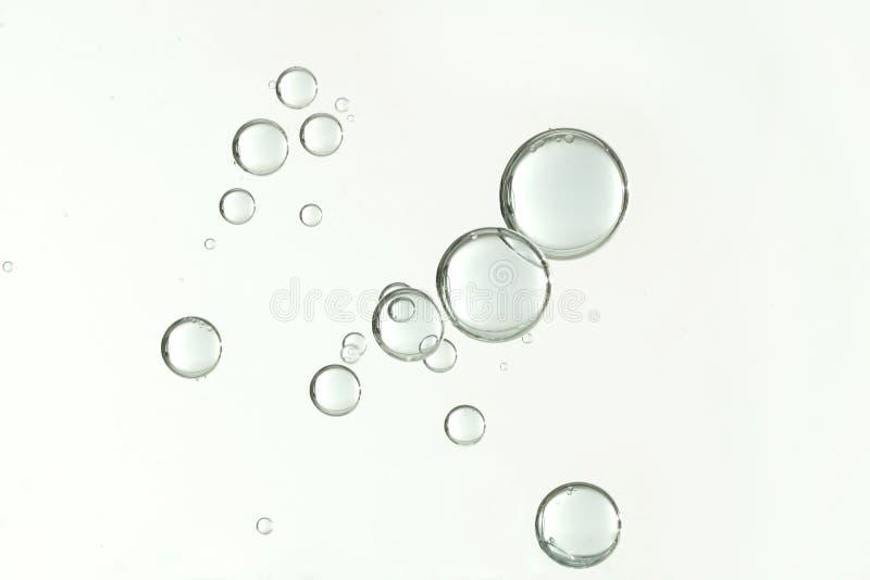 Пузыри чистой воды стоковое изображение