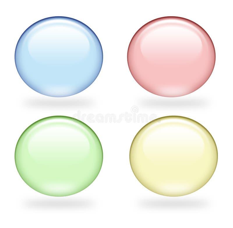 пузыри 3d иллюстрация штока