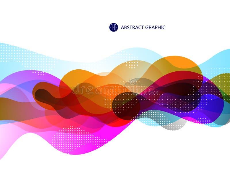 Пузырь любит абстрактный графический дизайн иллюстрация штока