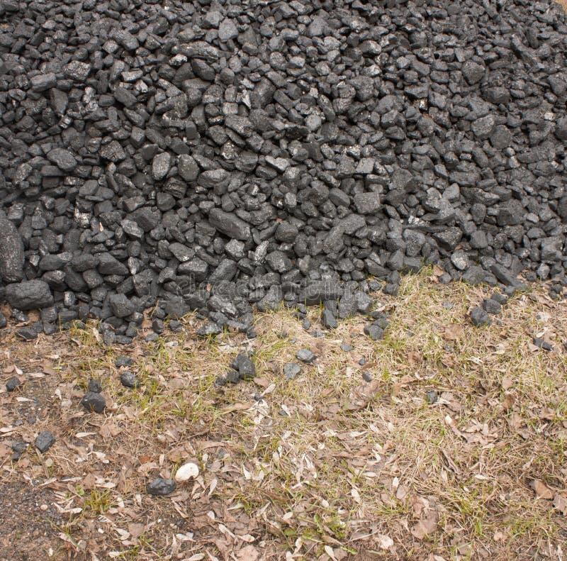 Пук антрацита угля стоковые фотографии rf