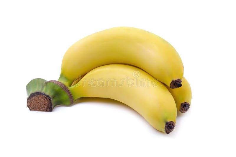 Пук бананов изолированных на белой предпосылке стоковая фотография rf