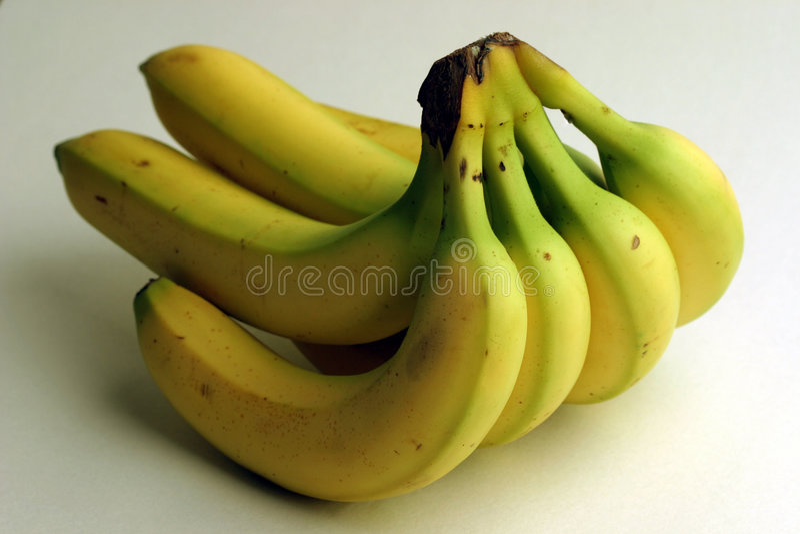 пук бананов Стоковое Изображение RF