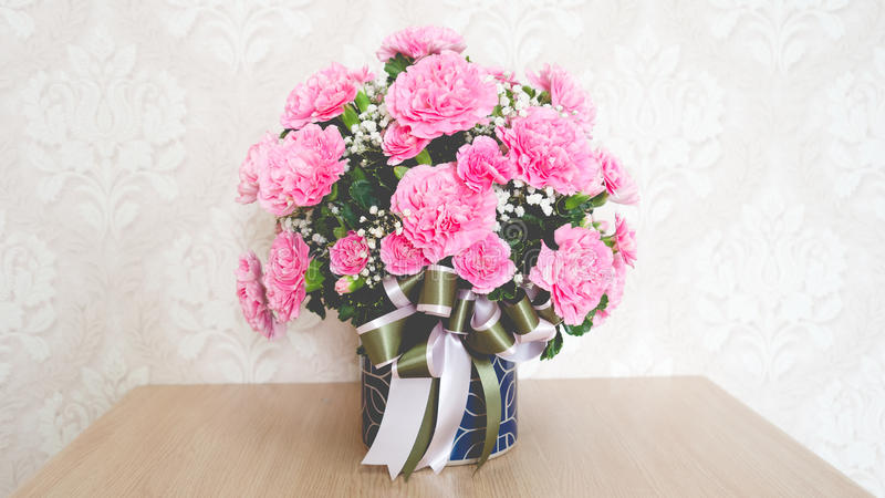 Пук розовой гвоздики стоковые фотографии rf