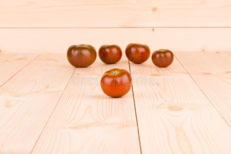 Пук свежих томатов вишни стоковая фотография rf