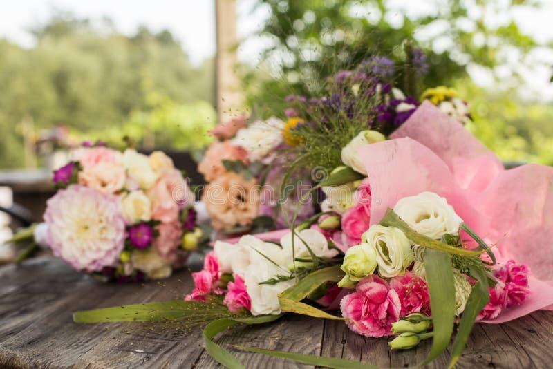 Пук цветков свадьбы стоковое изображение