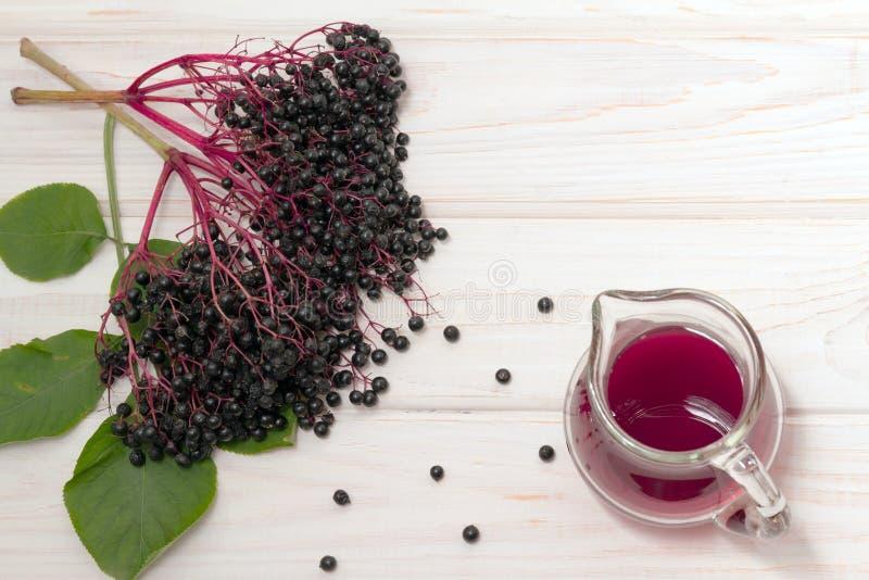 Пук elderberry стоковая фотография