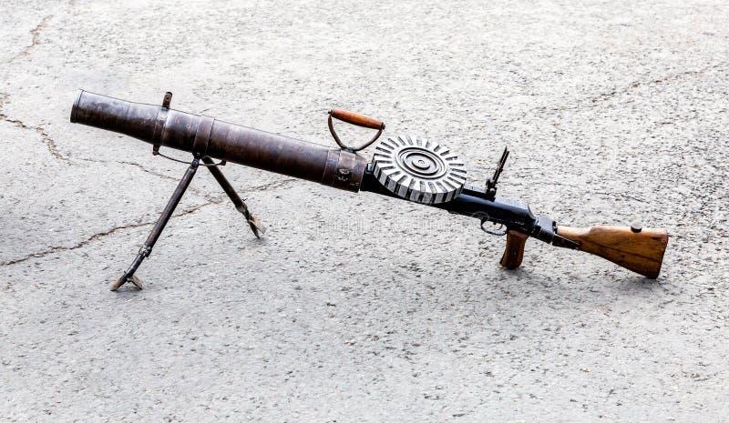 Пулемет Левис автоматический стоковые фотографии rf