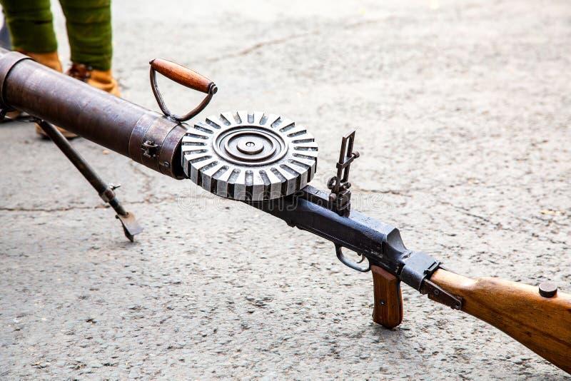 Пулемет Левис автоматический стоковые фото