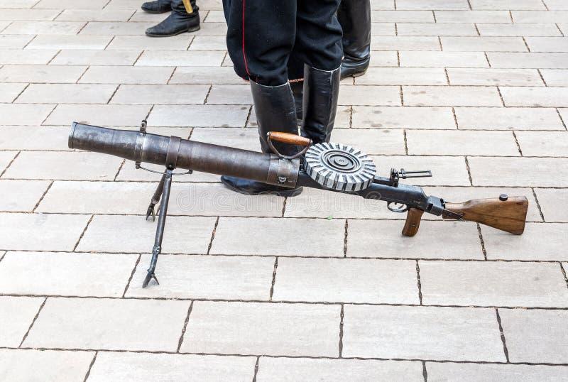 Пулемет Левис автоматический стоковое фото