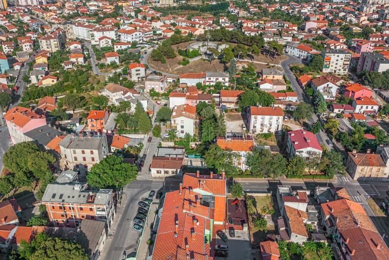 Пулы, Хорватия стоковое фото