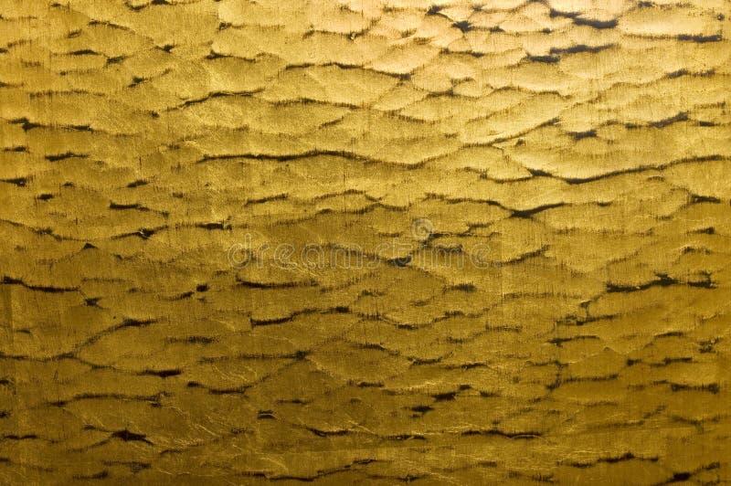 пульсация золота предпосылки стоковые фотографии rf
