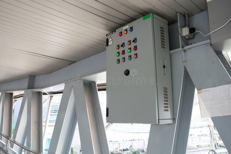 Пульт управления на мосте стоковое фото rf
