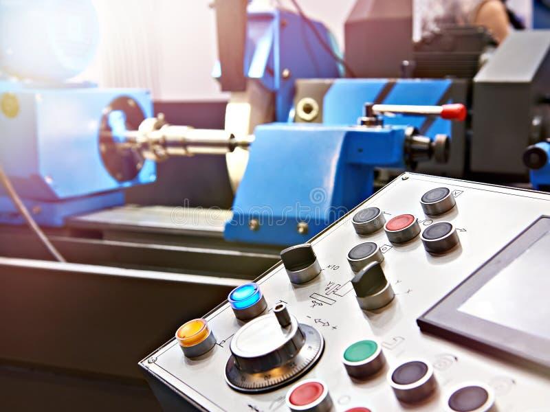 Пульт управления шлифовального станка стоковые фотографии rf