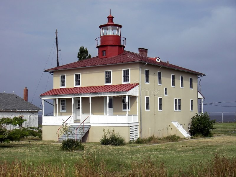 пункт бдительности маяка стоковое изображение