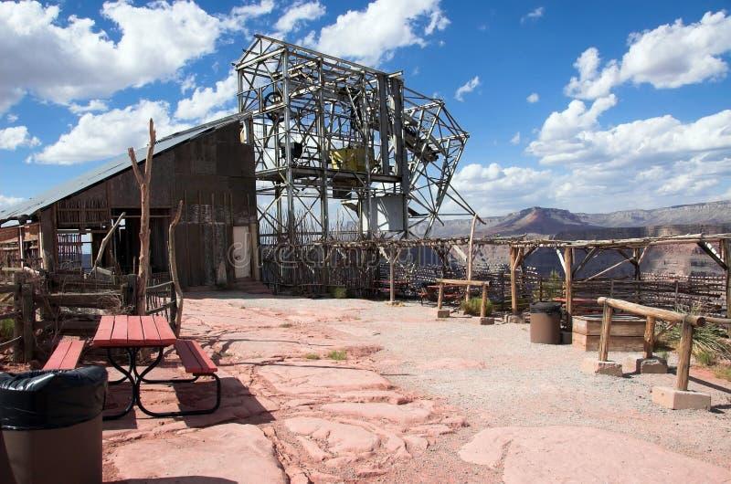 пункт гуана каньона грандиозный стоковые фото
