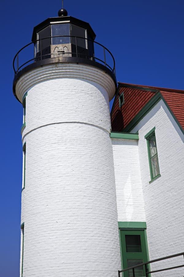 пункт маяка betsie стоковое изображение